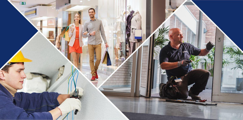 Gebouwenonderhoud voor de retail sector