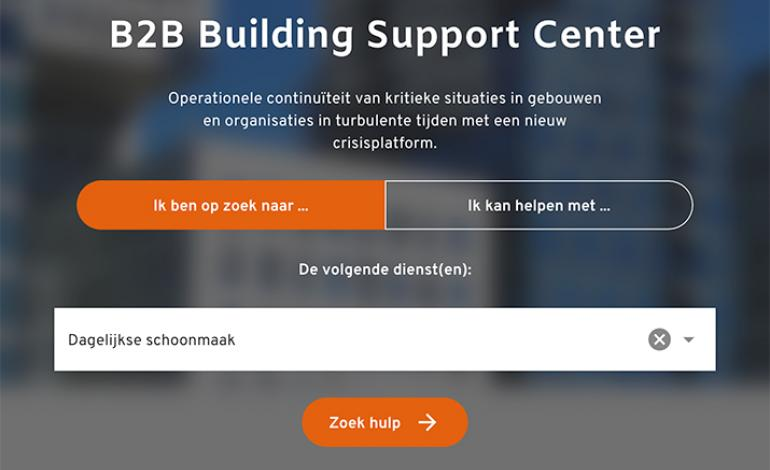 Facilicom is partner van het B2B Building Support Center